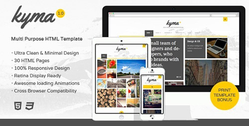ThemeForest - Kyma v1.0 - Multipurpose HTML Template - FULL