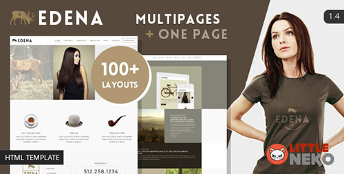 ThemeForest - EDENA v1.4 - Creative & Multipurpose Bootstrap Template - FULL