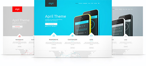 YooTheme - YT Digit v1.0.7 - Template For Joomla 2.5 & 3.3