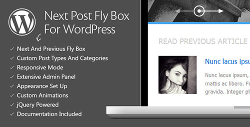 CodeCanyon - Next Post Fly Box v3.0 For WordPress