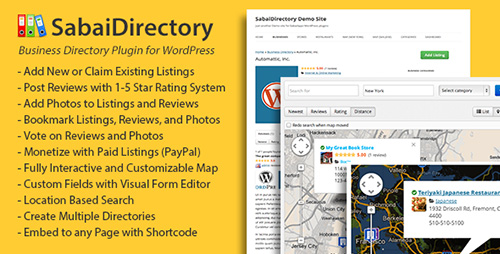 CodeCanyon - Sabai Directory v1.3.14 for WordPress