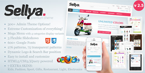 ThemeForest - Sellya v2.5 - Responsive WooCommerce Theme