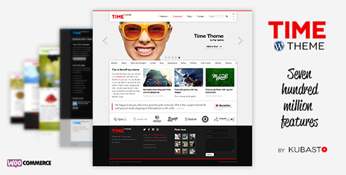 ThemeForest - Time v3.2.1 - Responsive WordPress Theme