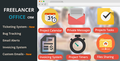 CodeCanyon - Freelancer Office v1.6.2 - Project Manager