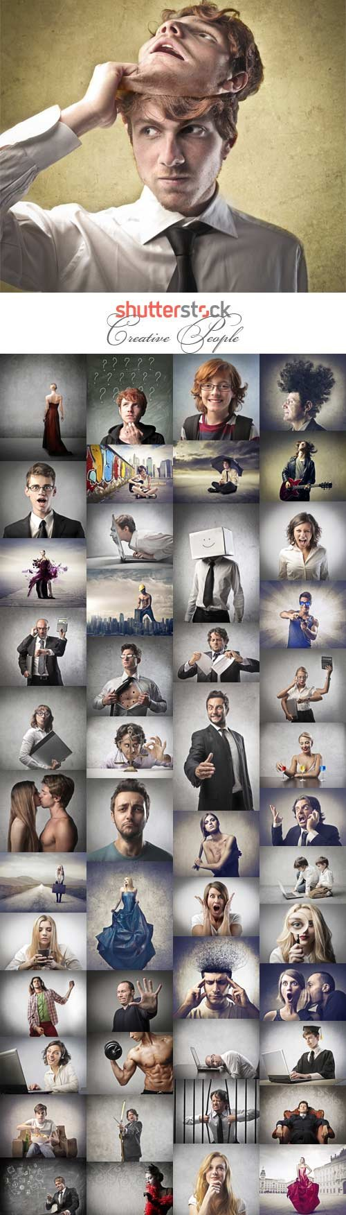 Creative People stock photo
