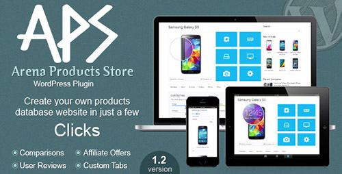 CodeCanyon - Arena Products Store v1.2 - WordPress Plugin