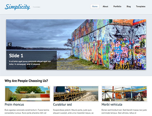 WooThemes - Simplicity v1.13.0 - Theme For WordPress