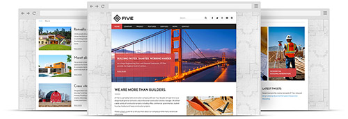 ZooTemplate - ZT Five v1.0.0 - Responsive Joomla 3.x Construction Template