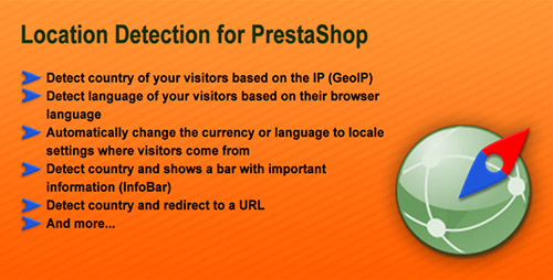 PrestaCheap - Location Detection v1.0 for PrestaShop
