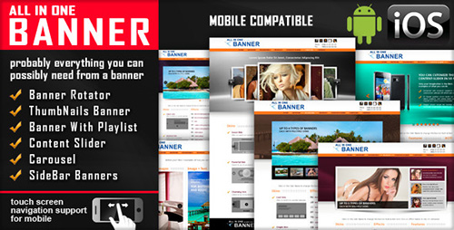 CodeCanyon - jQuery Banner Rotator / Content Slider / Carousel v3.0