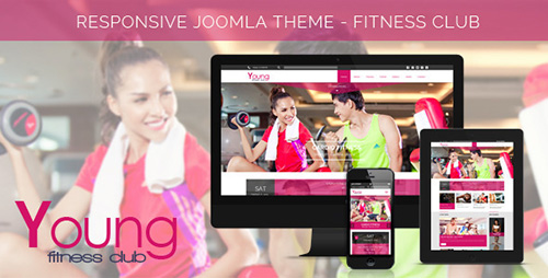 ThemeForest - Young Fitness v1.1 - Spa & Fitness Joomla 3.x Template