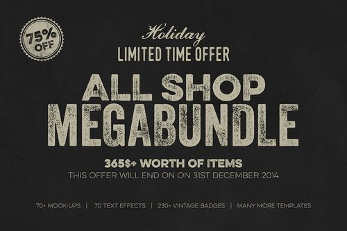 All Shop MegaBundle Limited Offer - 125297