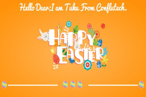 CreativeMarket - Happy Easter- Web Design Template