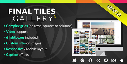 CodeCanyon - Final Tiles Grid Gallery v3.0.8 for Wordpress