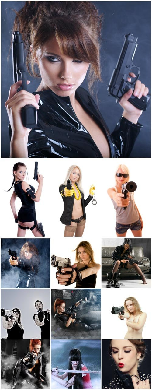 Awesome girls with guns