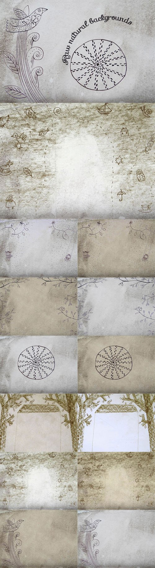 6 Raw Natural Backgrounds - Creativemarket 202451