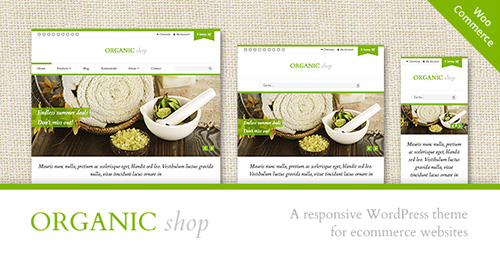 ThemeForest - Organic Shop v2.5.4 - Responsive WooCommerce Theme