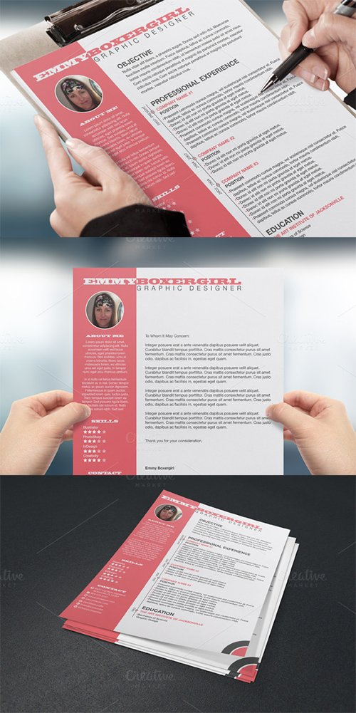 CM - Resume & Cover Letter Template 223328