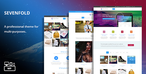 ThemeForest - Sevenfold v1.2 - Multi-Purpose WordPress Theme
