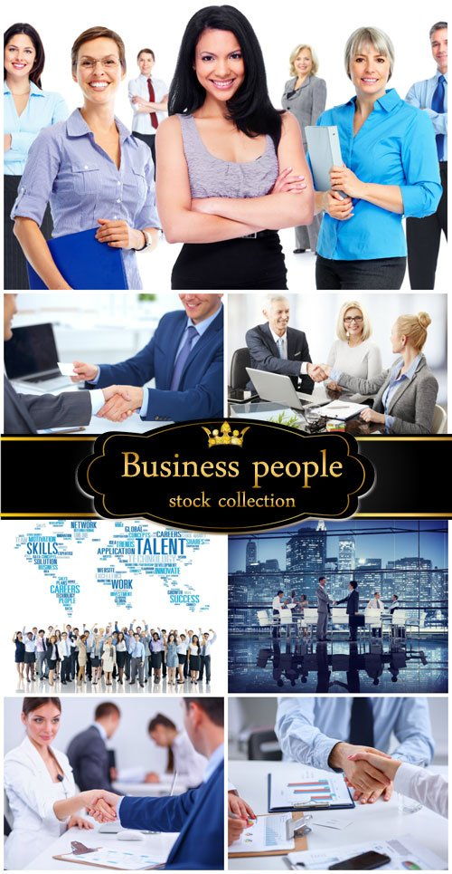Business people, business meetings - stock photos