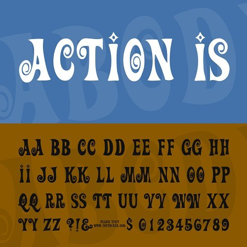 Action Font Style