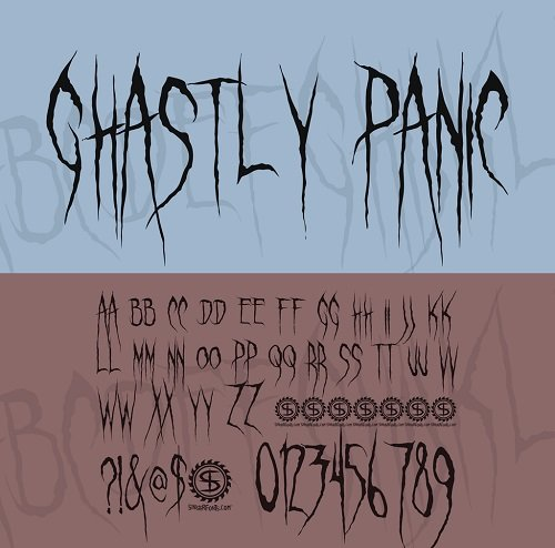 Ghastly Panic Font Style