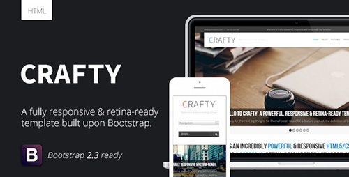 ThemeForest - Crafty v1.3 - Responsive Retina-ready HTML Template - FULL