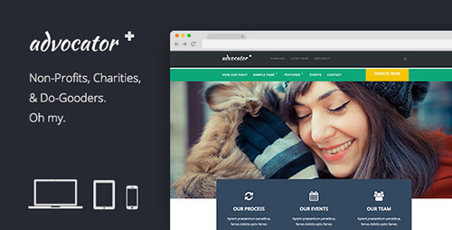 ThemeForest - Advocator v2.0.9 - Professional Nonprofit Organizations