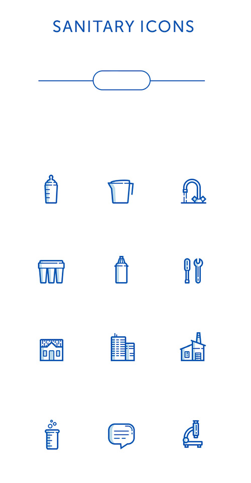 PSD Web Icons - Sanitary Icons
