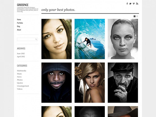 GraphPaperPress - Gridspace v1.4.5 - Responsive Portfolio Theme for WordPress