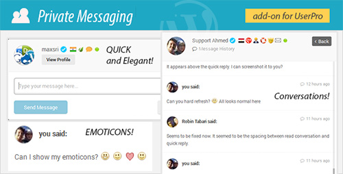CodeCanyon - Private Messages for UserPro v2.9