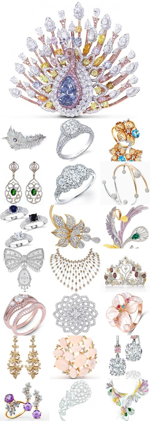 Beautiful jewelry Raster Graphics