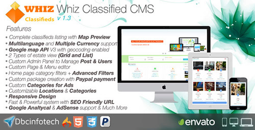 CodeCanyon - WhizClassified v1.2 - Classifieds CMS
