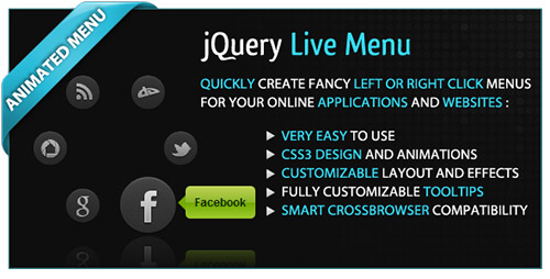 CodeCanyon - jQuery Live Menu v1.0
