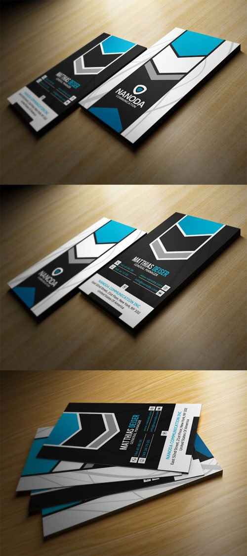 Creativemarket Modern Business Card 198116