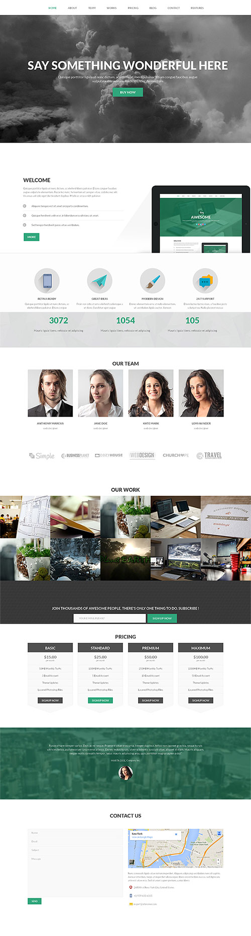 CreativeMarket - King v1.0 - Premium WordPress Theme