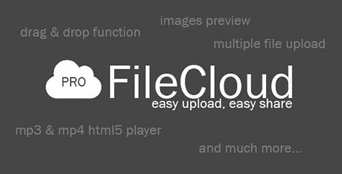 CodeCanyon - FileCloud PRO v1.4