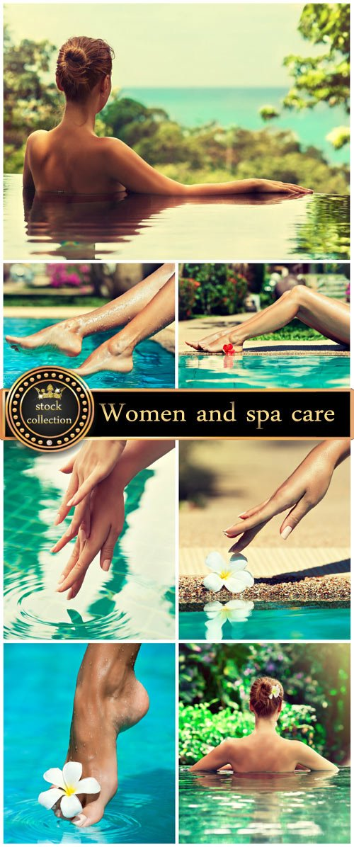 Women and spa care - stock photos