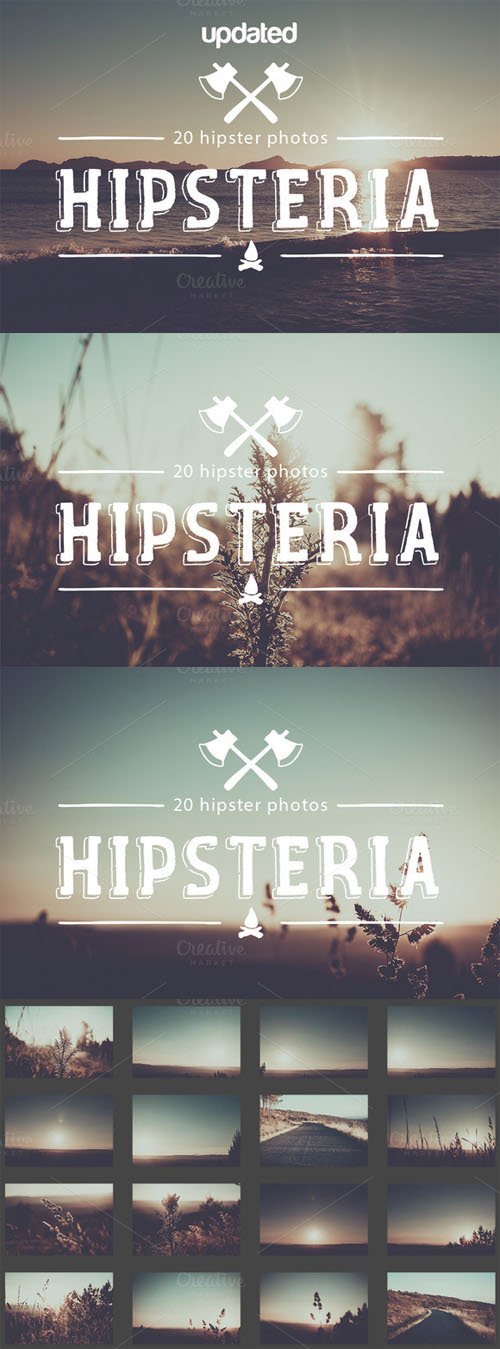 Creativemarket Hipsteria Photo Pack 92804