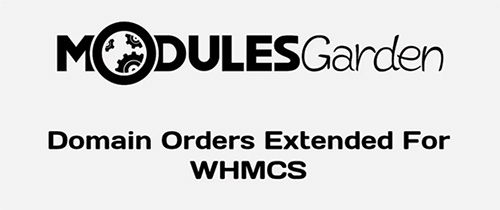 ModulesGarden - Domain Orders Extended v2.0.3 For WHMCS