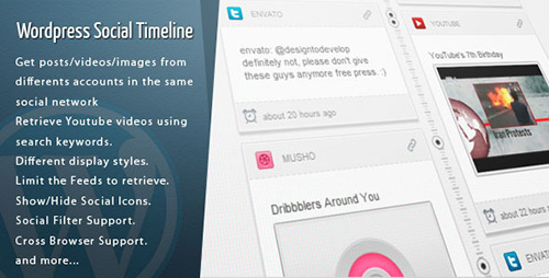 CodeCanyon - Wordpress Social Timeline v1.7.8