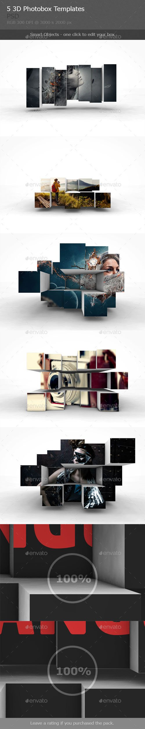 3D Photobox Template - Graphicriver 9571901