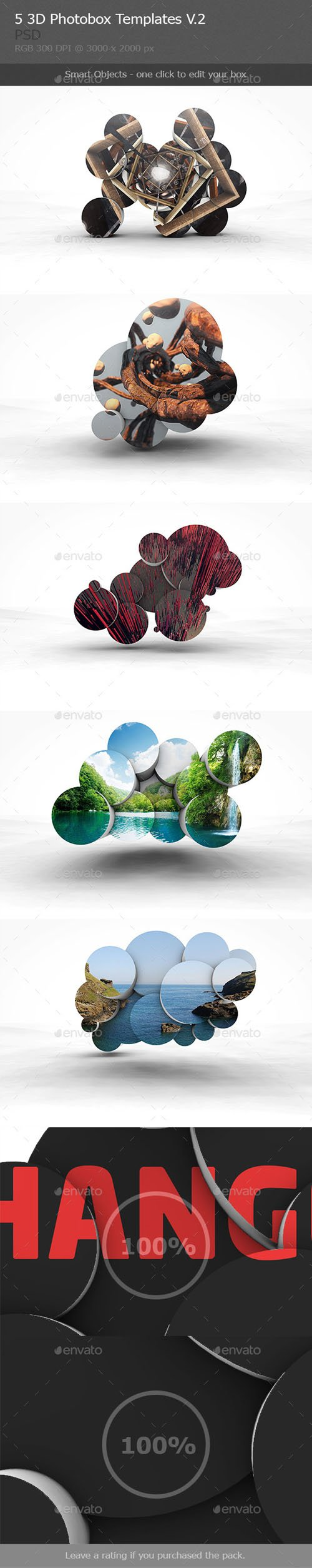 3D Photobox Template V.2 - Graphicriver 10034426