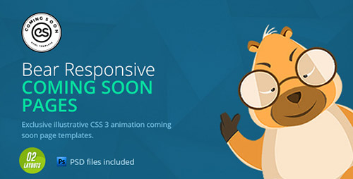 ThemeForest - Coming Soon | HTML Animated Template - RIP