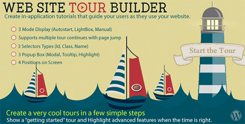 CodeCanyon - Web Site Tour Builder v1.1 For Wordpress