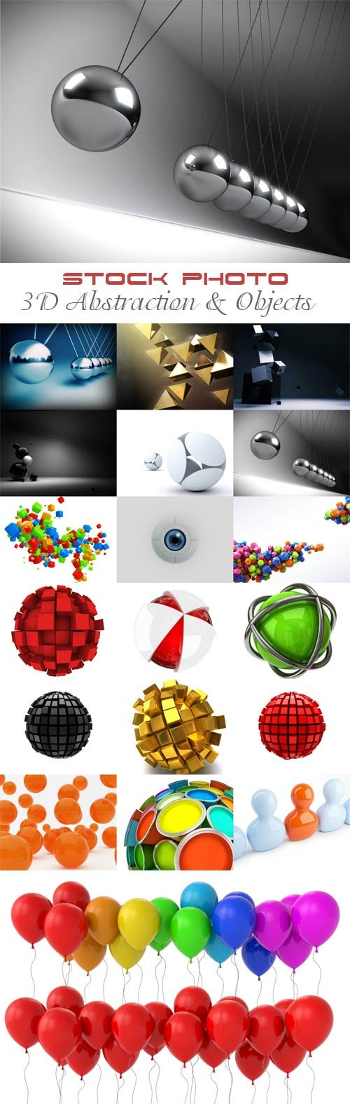 3D Abstraction and  Objects