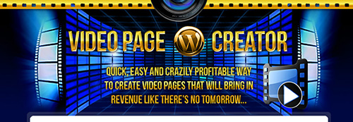 WP Video Page Creator Plugin v1.0