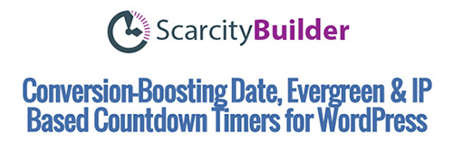 Scarcity Builder v2.1 - WordPress Plugin
