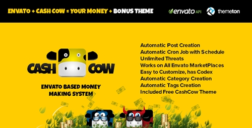 CodeCanyon - CashCow v2.2.0 - Affiliate Based Money Making System
