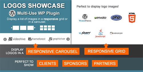 CodeCanyon - Logos Showcase v1.4.9 - Multi-Use Responsive WP Plugin